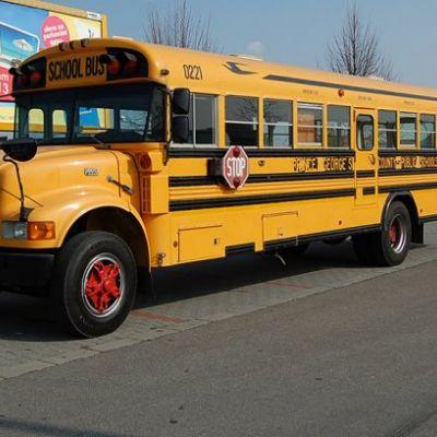 Americký školský autobus