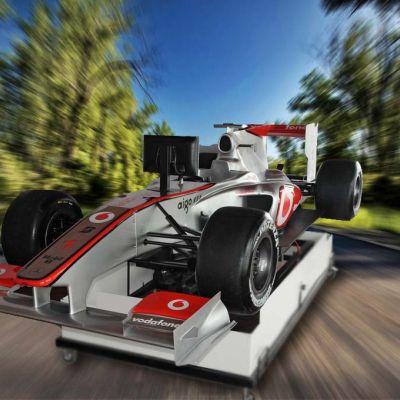 Simulátor Formuly F1 McLaren 3D