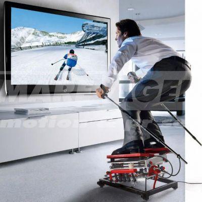 Simulátor lyžovania