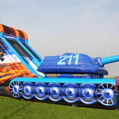 Nafukovacia šmýkačka Tank