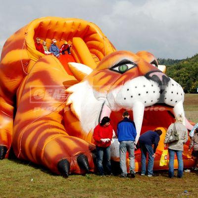 Nafukovacia šmýkačka Tiger