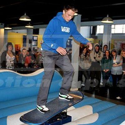 Snowboard simulátor